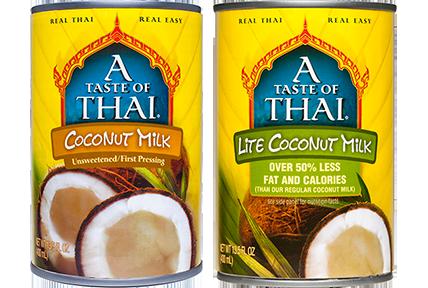 A Taste Of Thai Coconut Milk a taste of thai